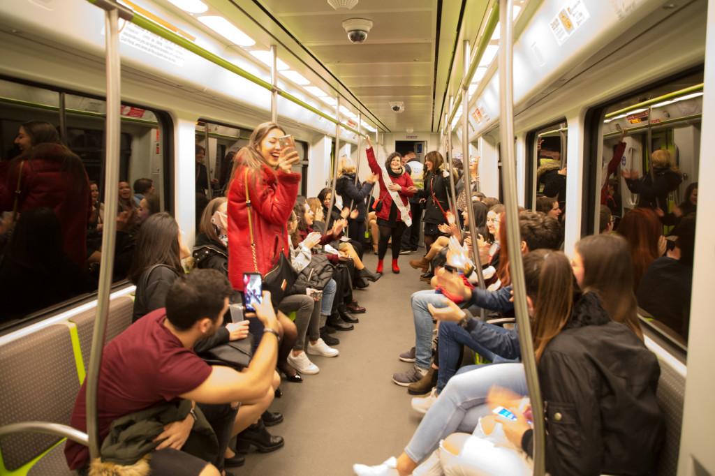 MetroValencia nocturno