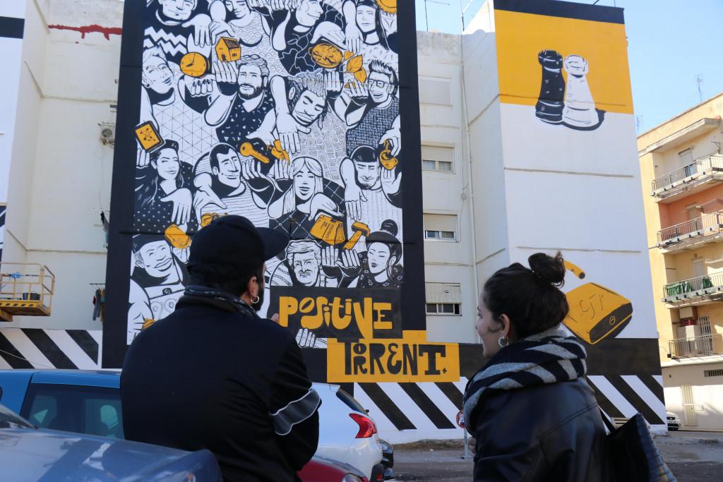 Pintura Mural Torrent