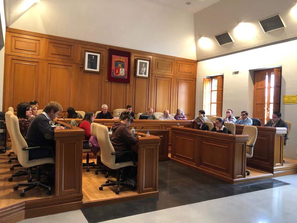 Pleno Burjassot Diciembre 2019