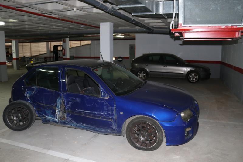 Policia Local Albal vehículos abandonados