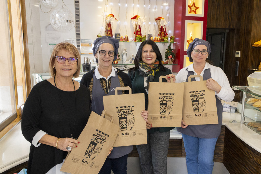 campaña Picassent bolsas de papel