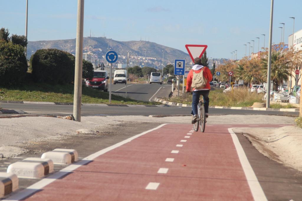 Alaquàs carril bici