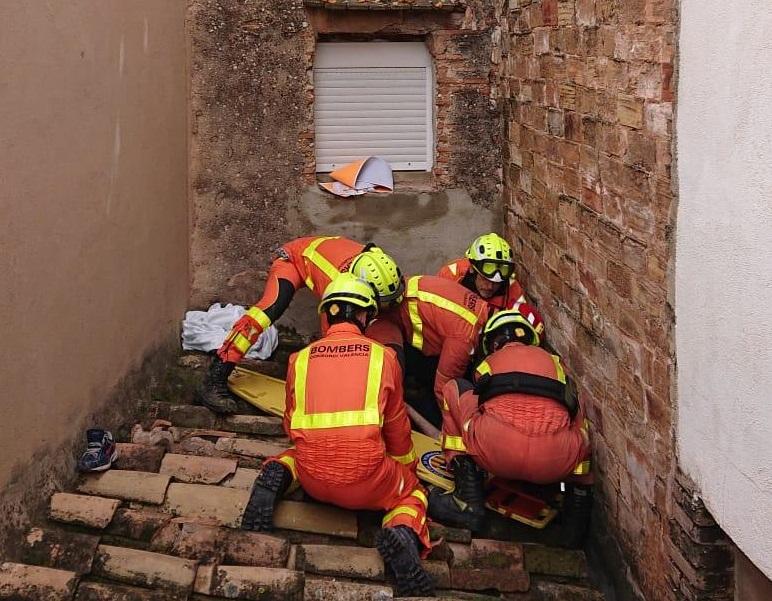 Bomberos rescate Xirivella