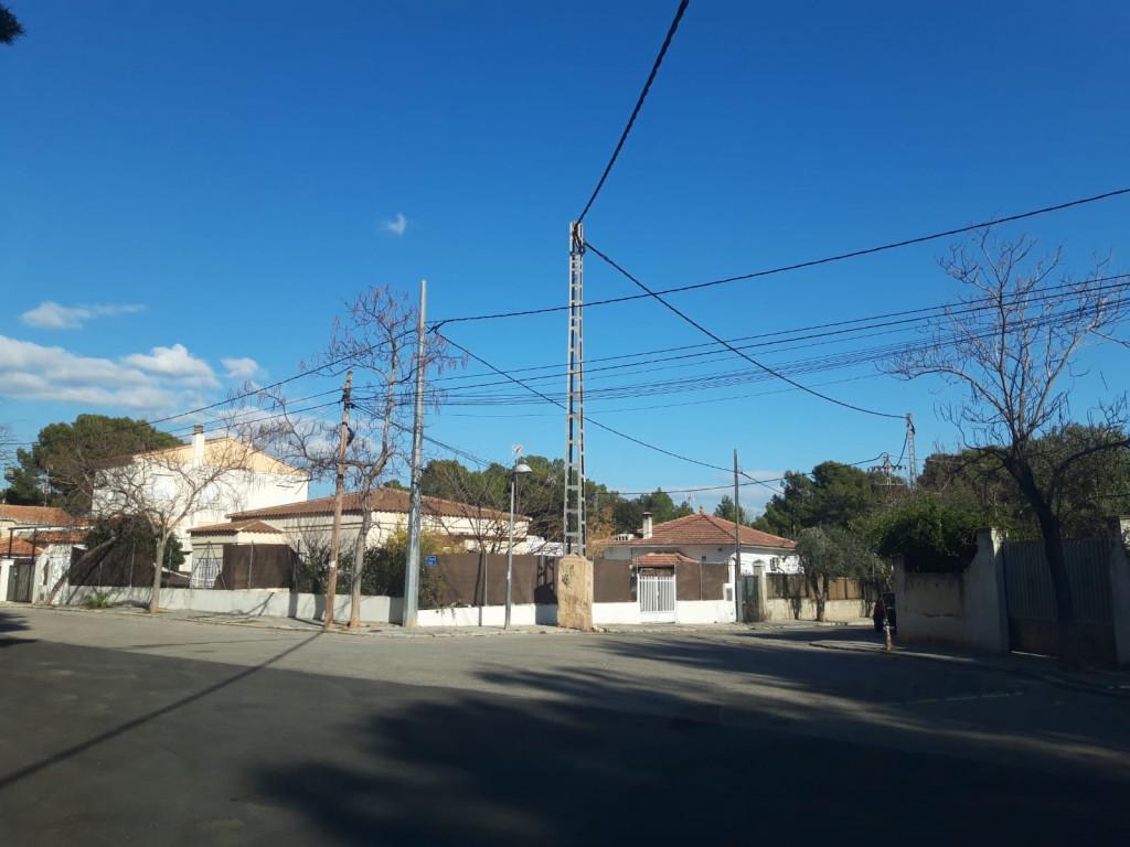 Líneas eléctricas Paterna
