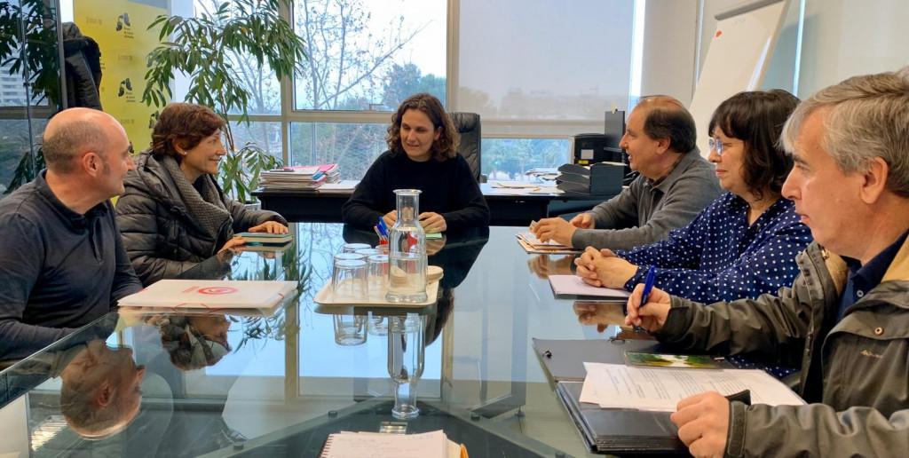 Les Moles reunión con Paula Tuzón conselleria