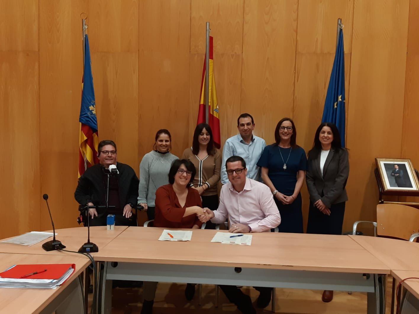 PSPV y Compromis pacto Bonrepòs i Mirambell