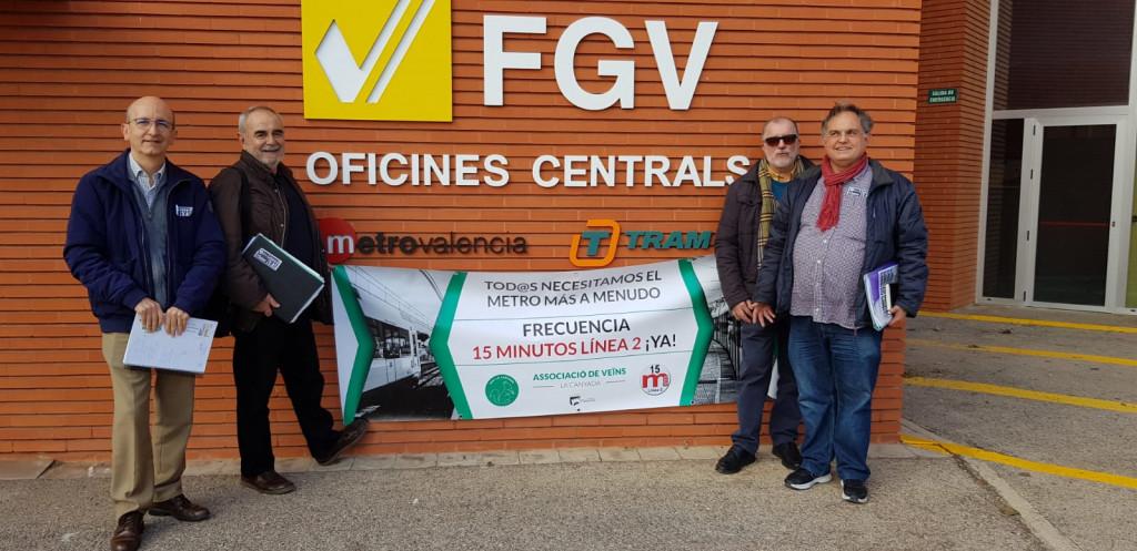 Plataforma 15 minutos reunion con FGV