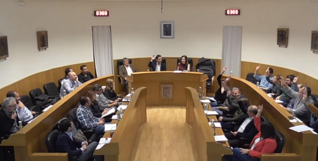 Pleno Paterna supresión Oficial Mayor