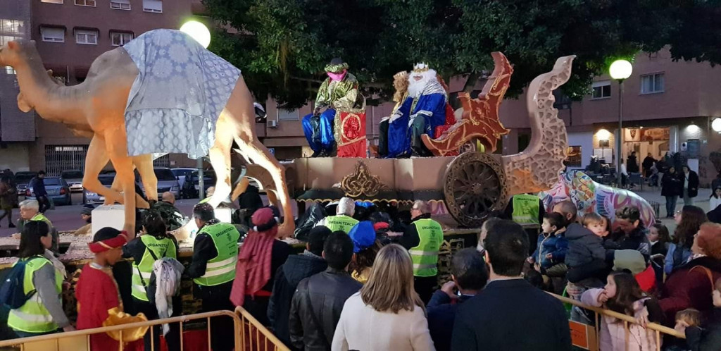 Reyes magos Xirivella