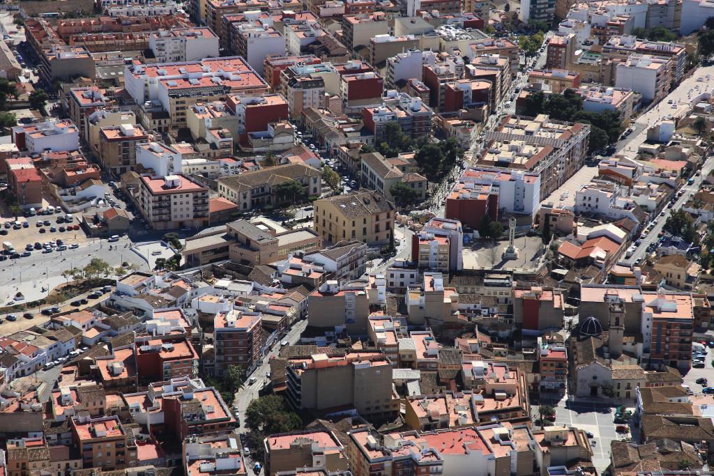 Vista aérea Paterna