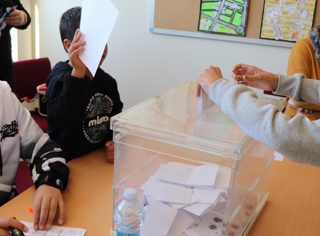 votacion colegio numero 2 Rafelbunyol