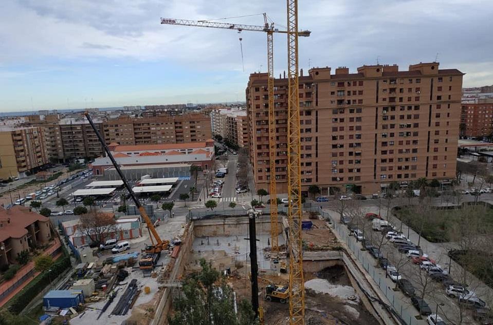 Benimaclet obras edificio