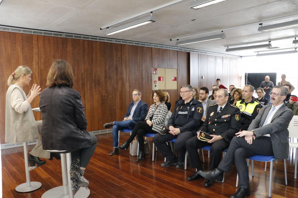 La consellera de Justicia, Gabriela Bravo, anuncia la próxima apertura de una Oficina de Atención a las Víctimas del Delito en Quart de Poblet