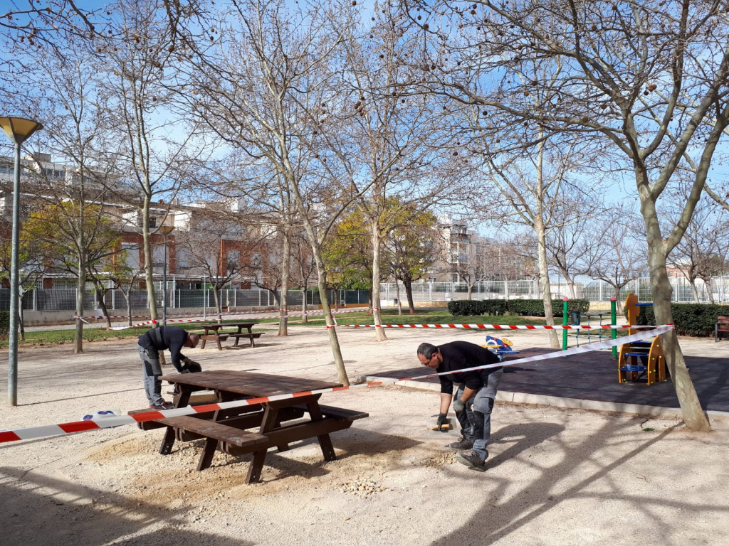 Mobiliario urbano Paterna