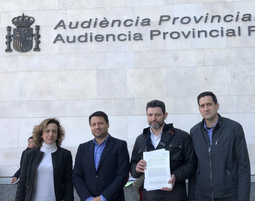 PP y Cs El Puig denuncia Anticorrupcion