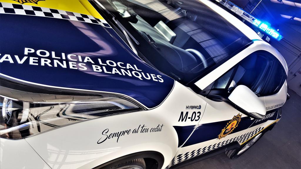 Policia Local Tavernes Blanques coche