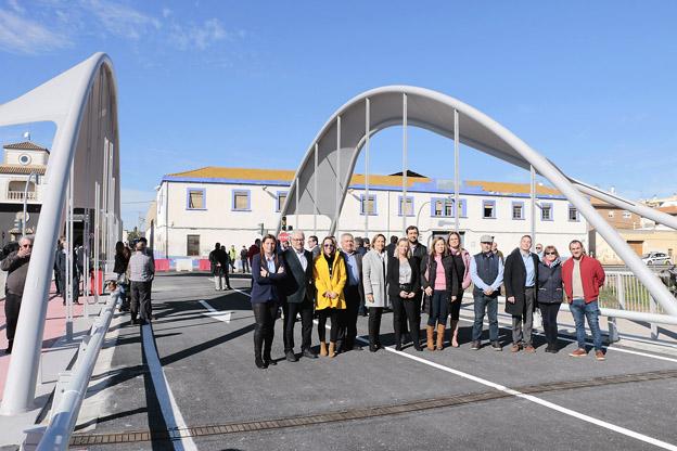 Puçol inauguración puente