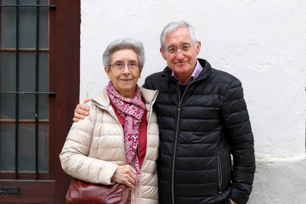 Rosa Orti y Alfred Dominguez