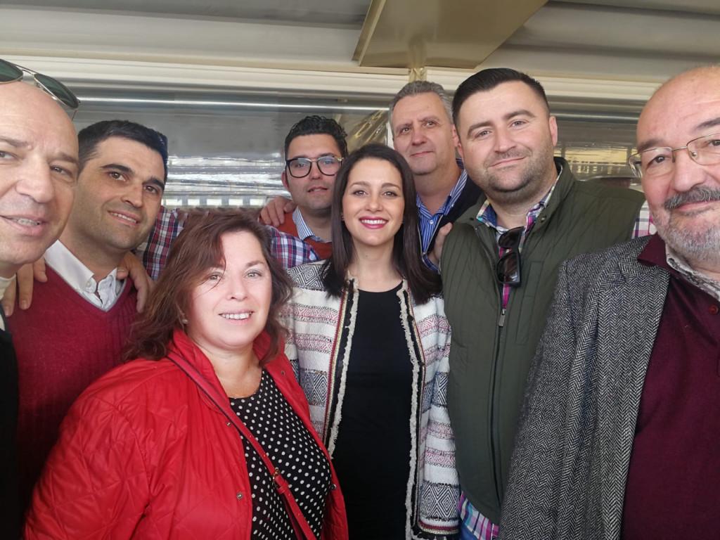 Cs El Puig con Inés Arriamdas