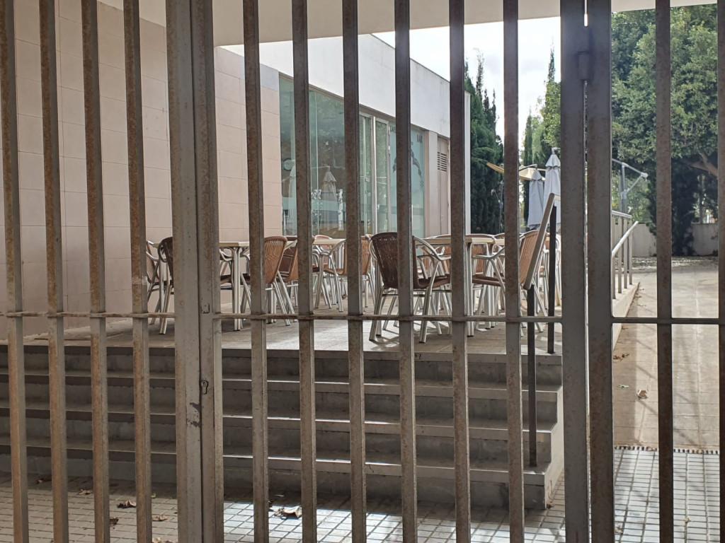 cafetería polideportivo Xirivella