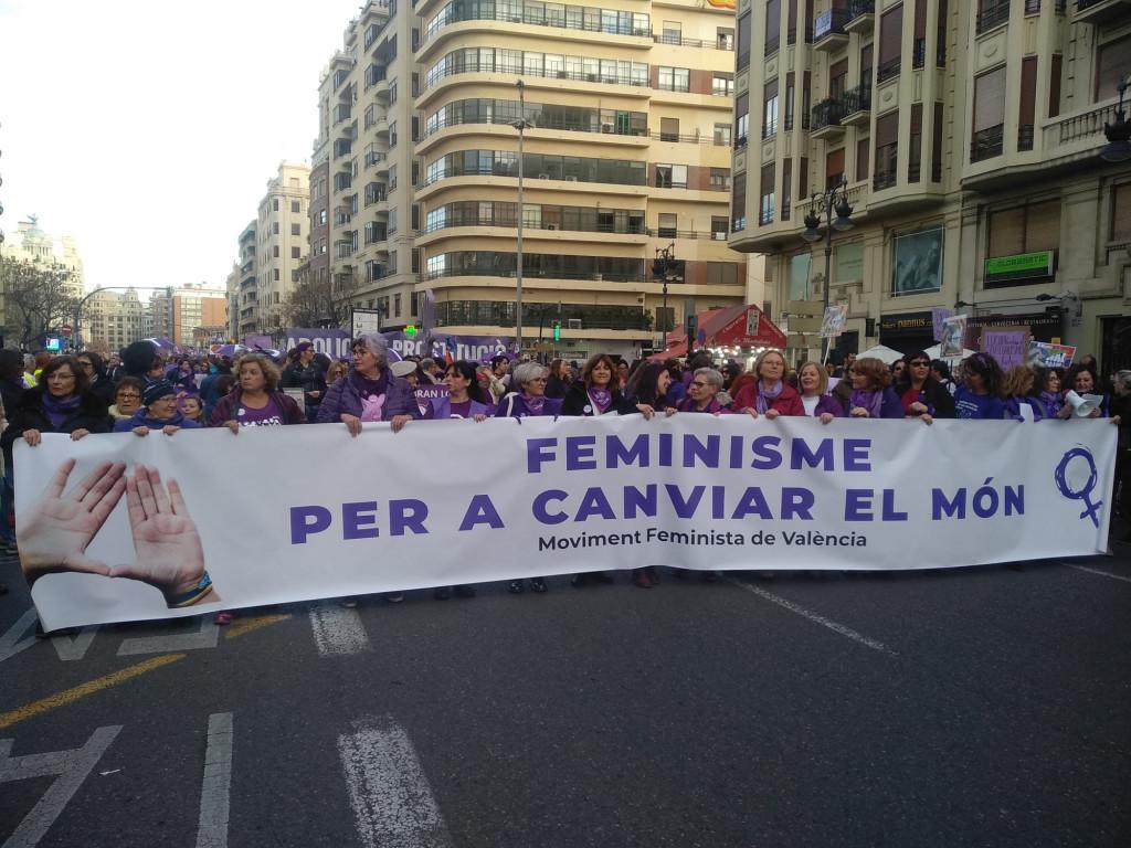 8M Valencia manifestacion