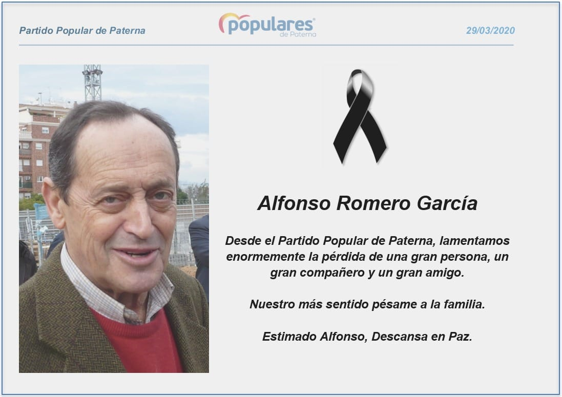 Alfonso Romero PP Paterna