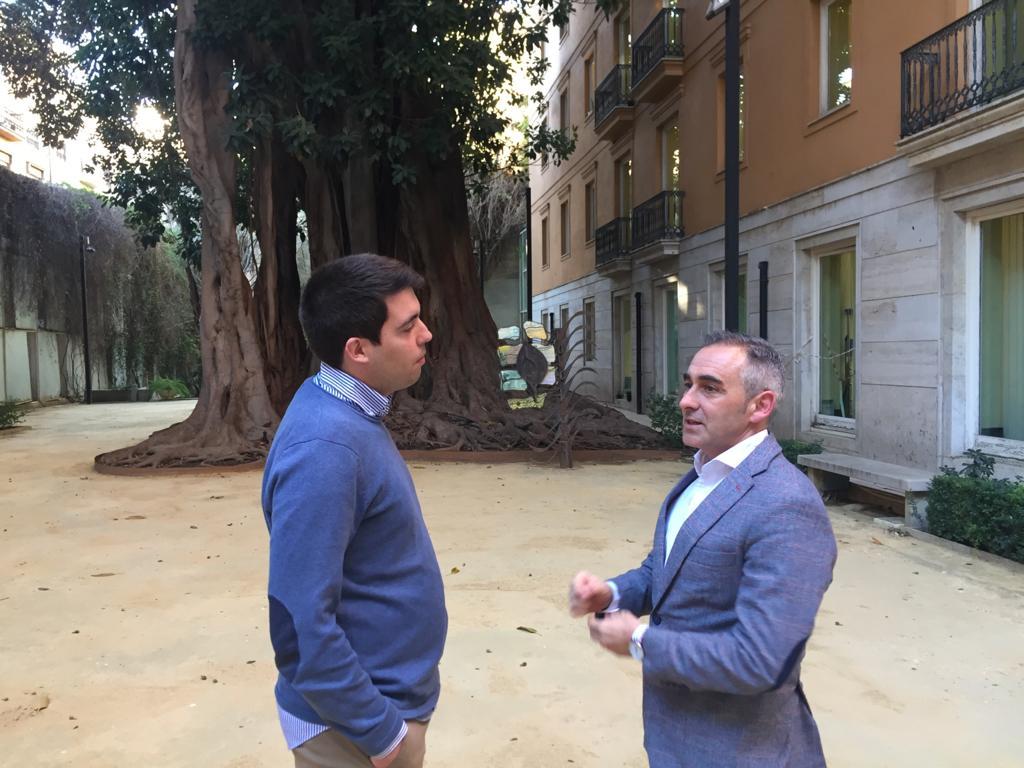 Emilio José Belencoso (Almàssera) y MIguel Barrachina PP