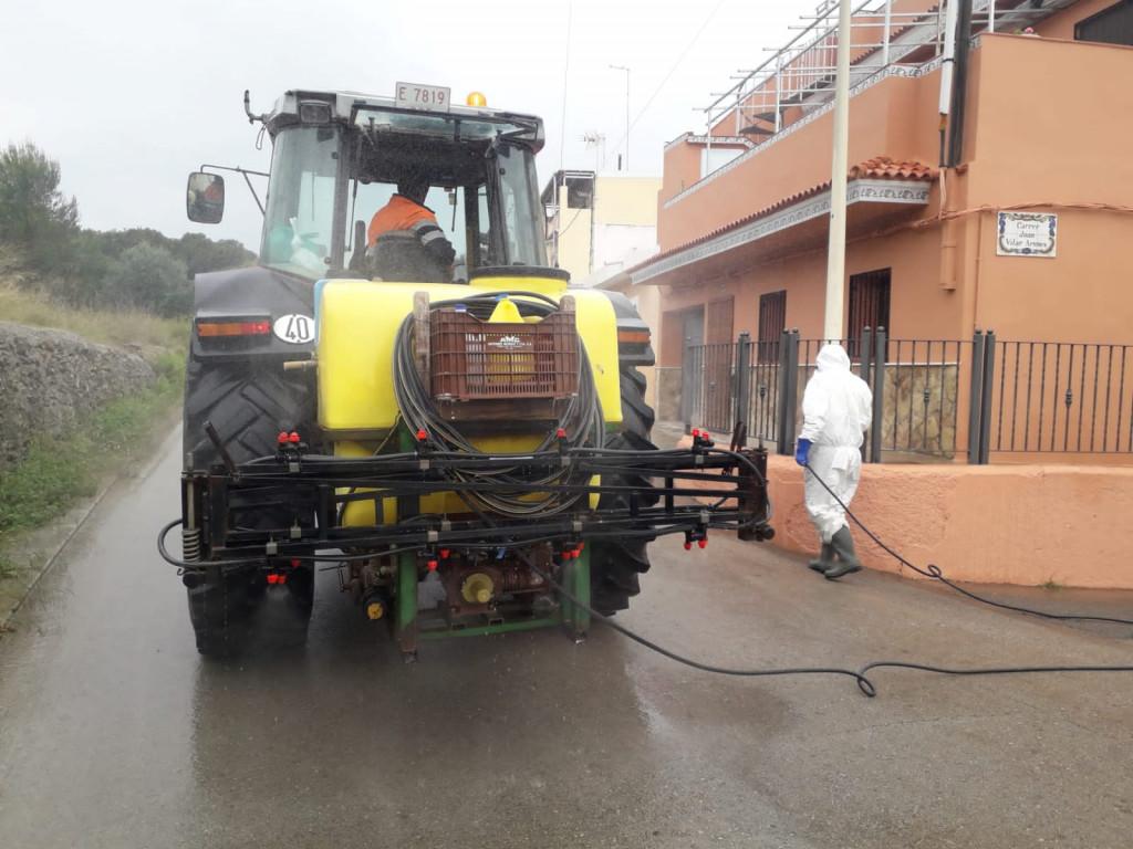Manises tractor
