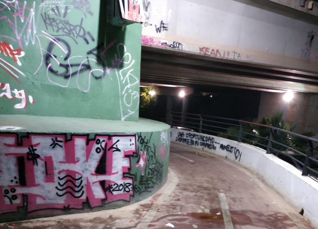 Paso inferior metro Paiporta