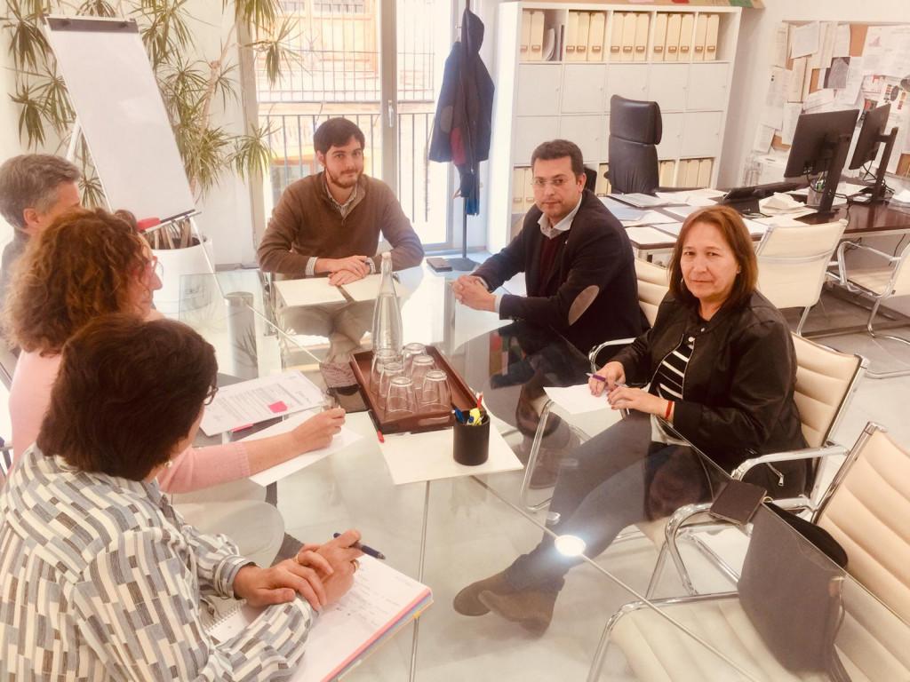 Reunión GVA-Ayuntamiento Alfafar