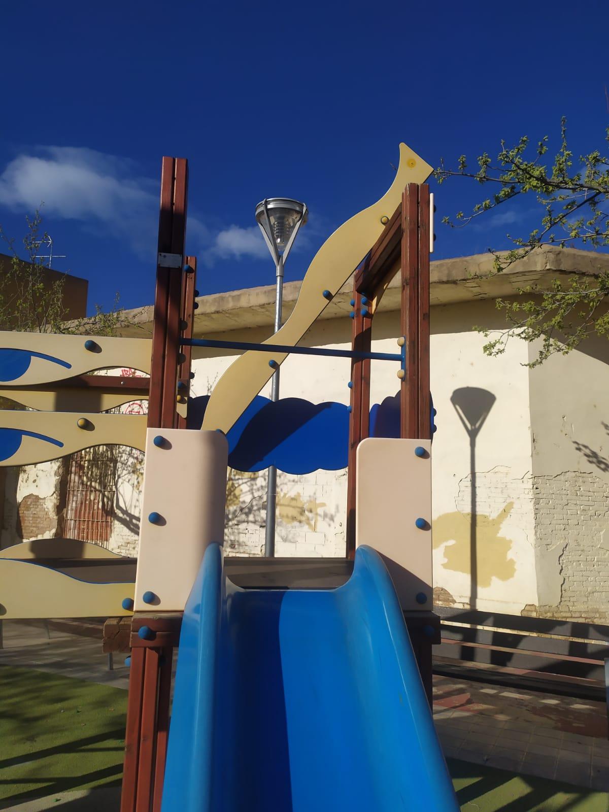 columpios Parque del Barranc de Massanassa