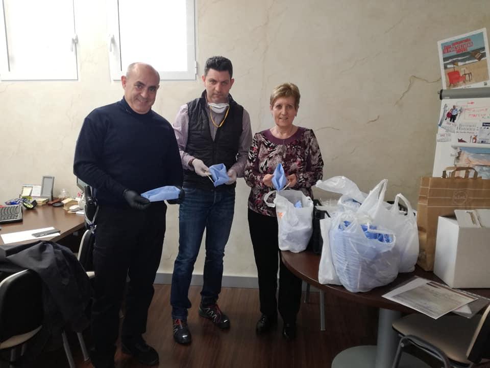 donacion mascarillas PP El Puig