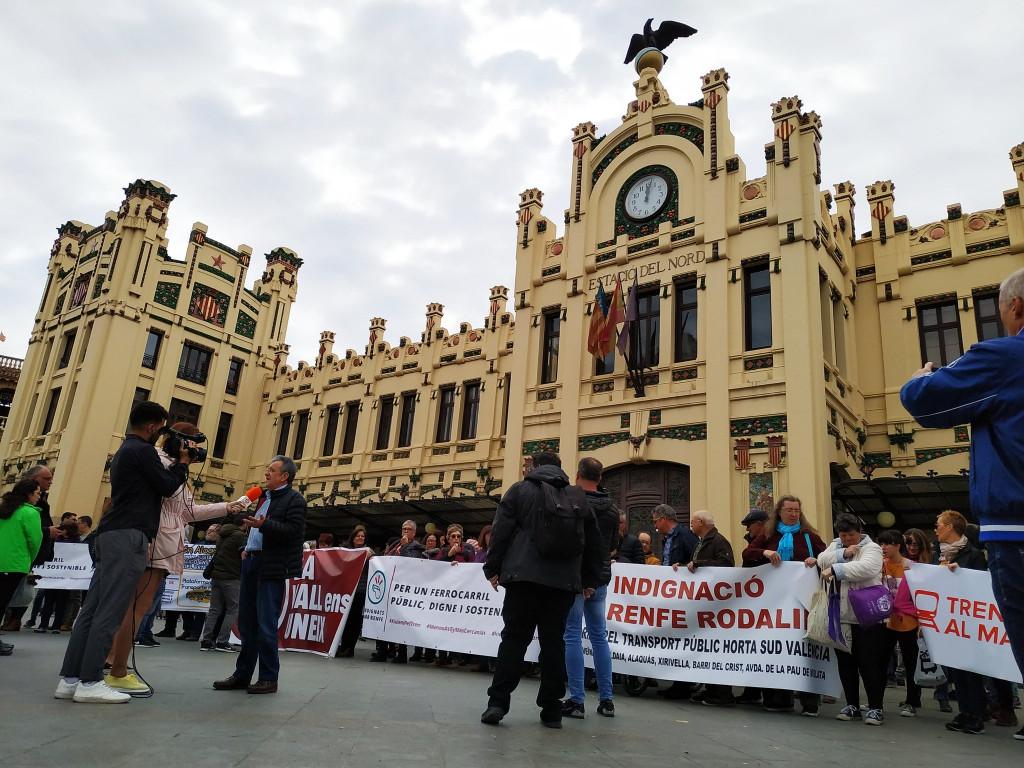manifestacion Cercanias