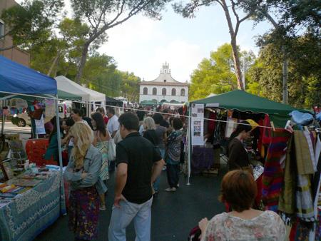 mercado artesanal Godella
