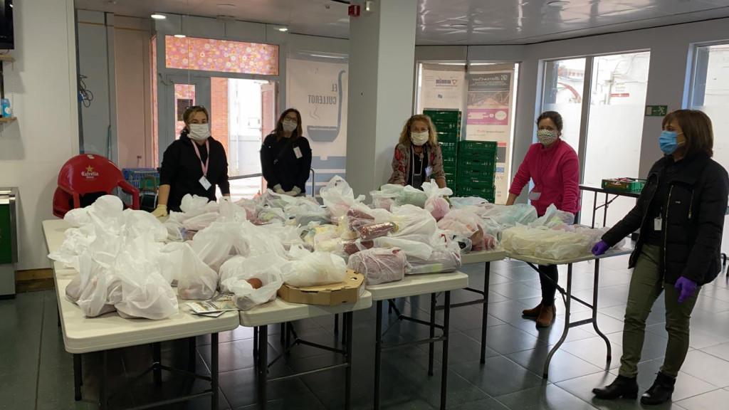 Alaquas reparto alimento coronavirus