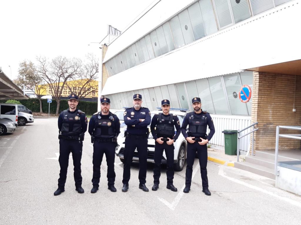 Policia Local de Paterna 4 nuevos agentes