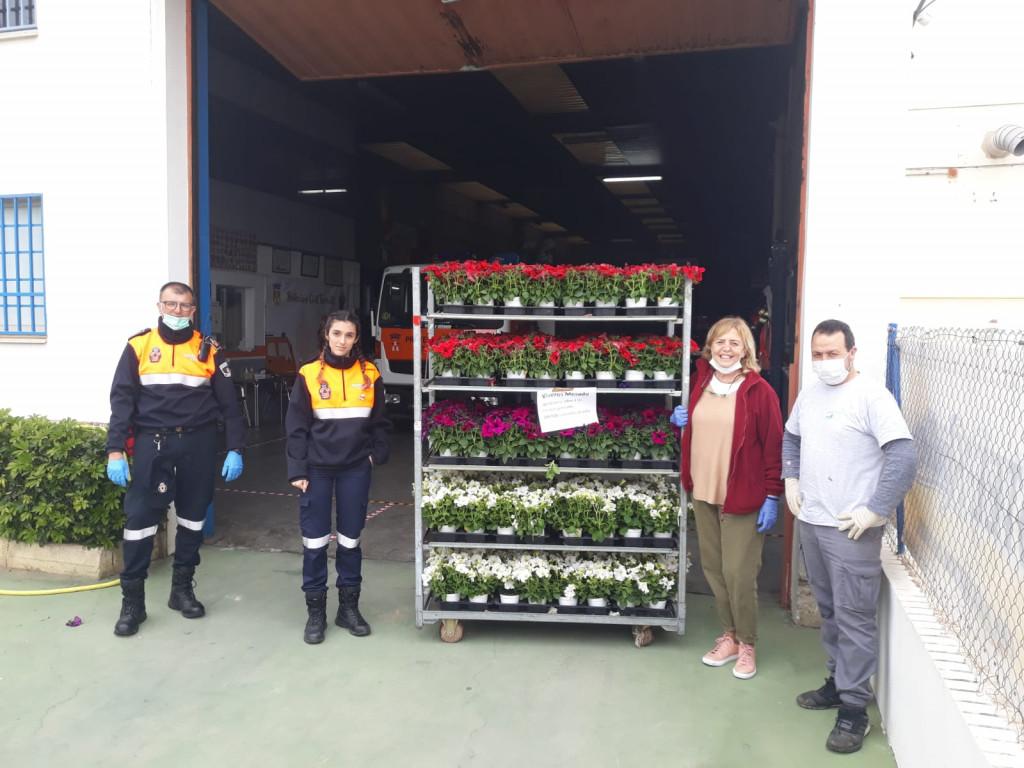 donación flores Torrent