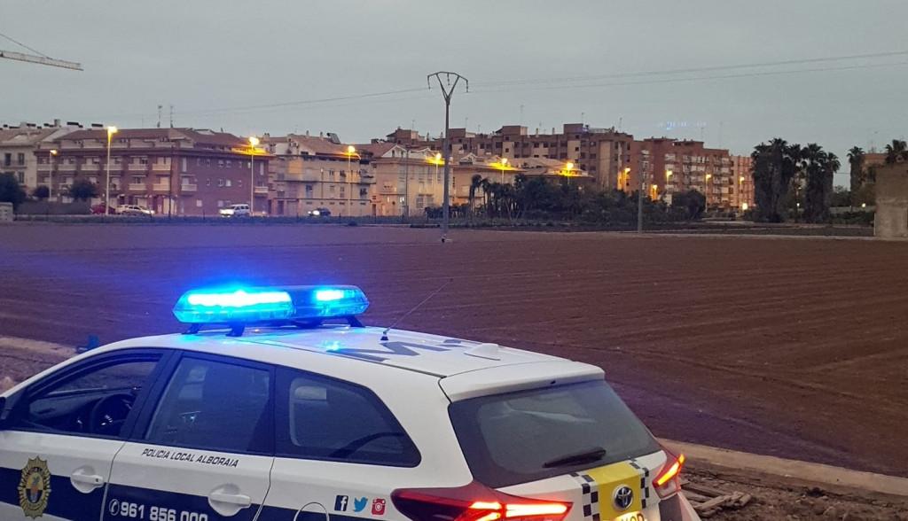 Policia Local Alboraya zona huerta