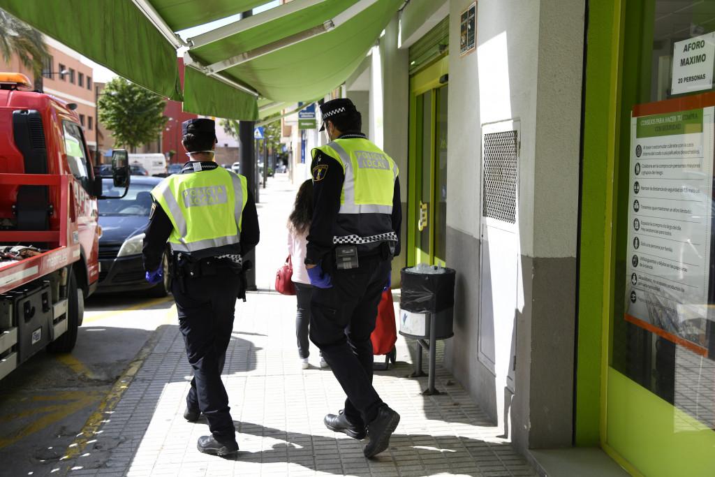 Policia Local Paiporta desconfinamiento