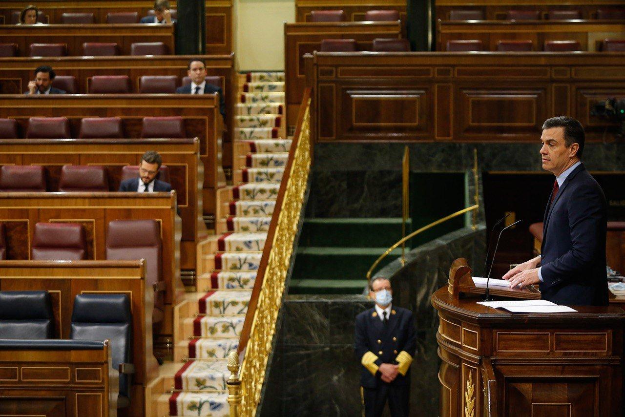 pedro sanchez congreso diputados prorroga estado alarma