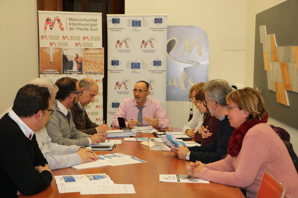 Comisión Europa Mancomunitat Horta Sud