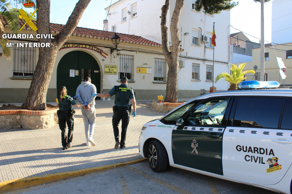 Detenido Guardia Civil Picassent