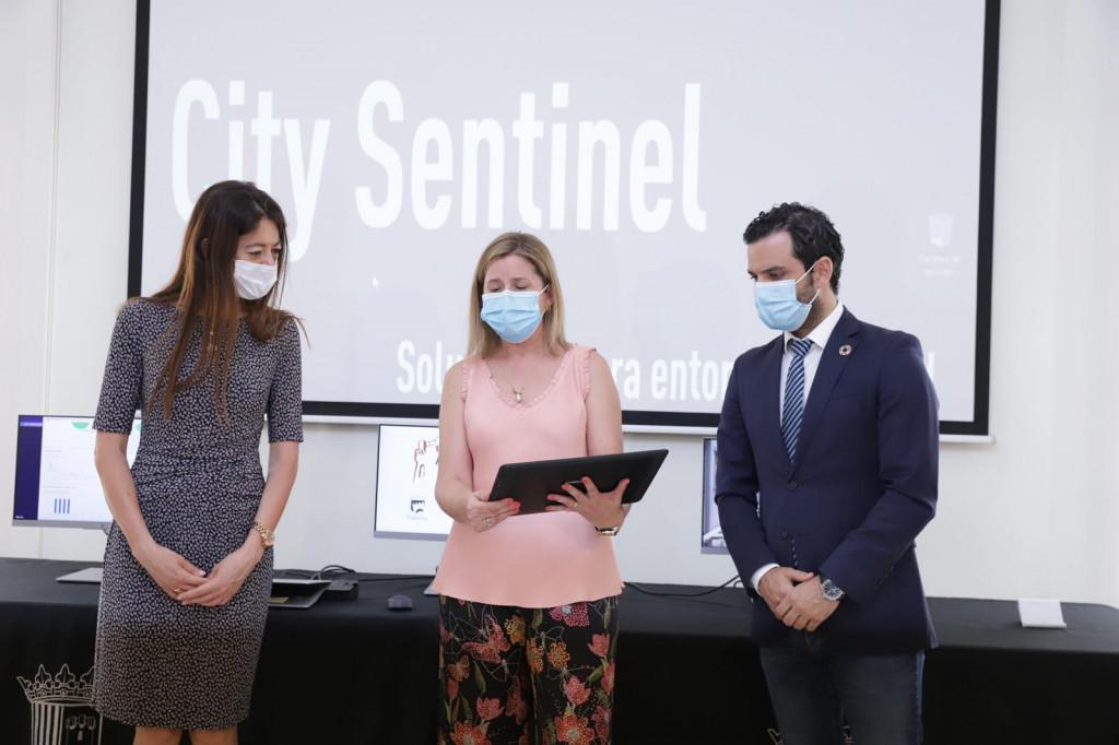 Paterna presentacion sistema City Sentinel