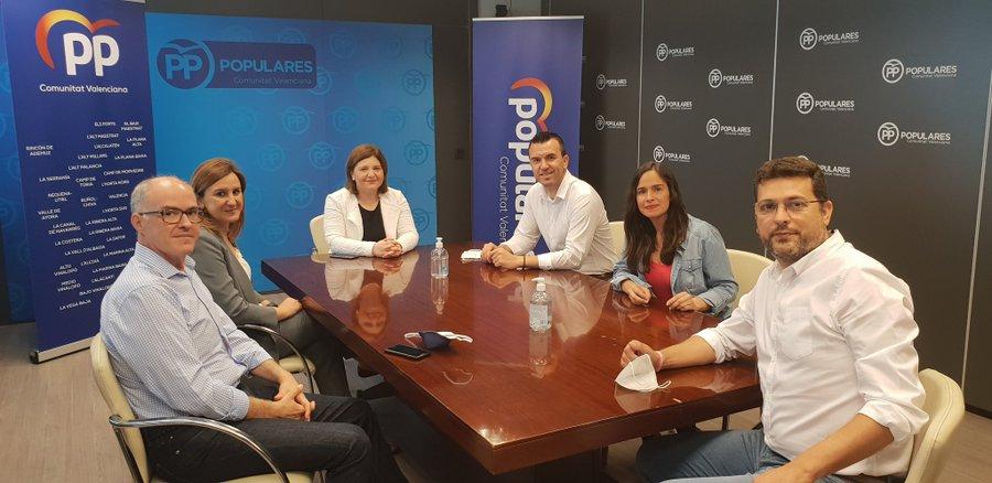pacto PP provincial Bonig Adsuara, Belen Hoyo, Fernando de Rosa
