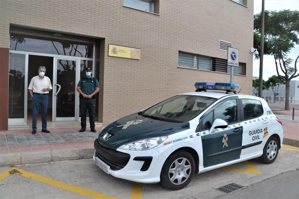 Guardia Civil en Albal