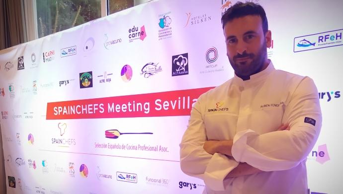 Ruben Fenollar Selección Española de Cocina Profesional