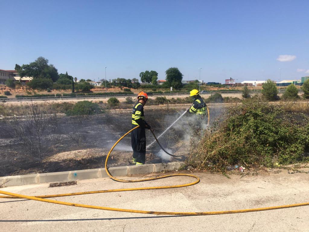 incendio forestal Torrent
