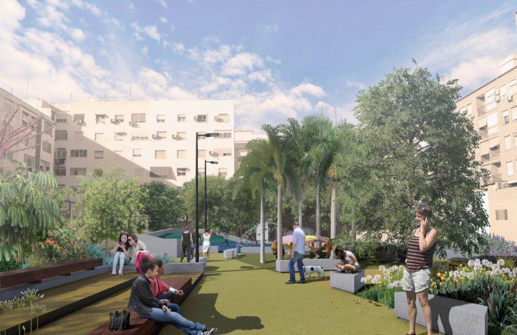 nuevo jardín Benicalap