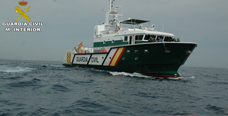 servicio maritimo Guardia Civil