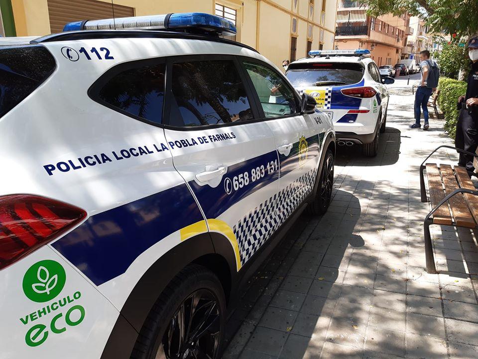 Policía Local Pobla de Farnals